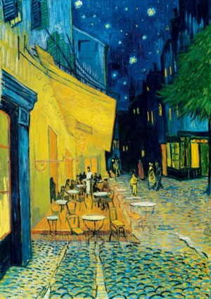 Van Gogh Caféterrasse am Abend