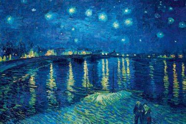 Vincent van Gogh Sternennacht über der Rhone